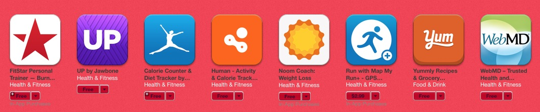 Apps fuer Health 1