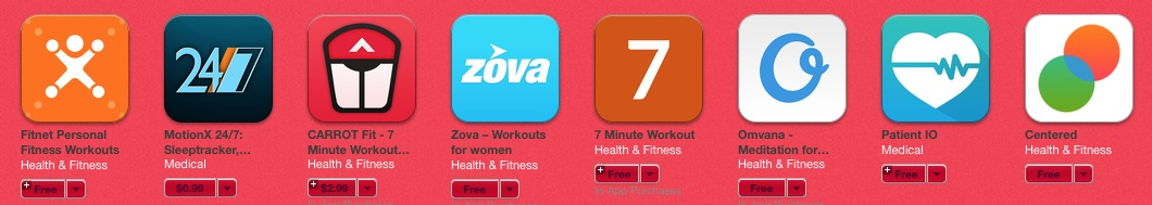 Apps fuer Health 2