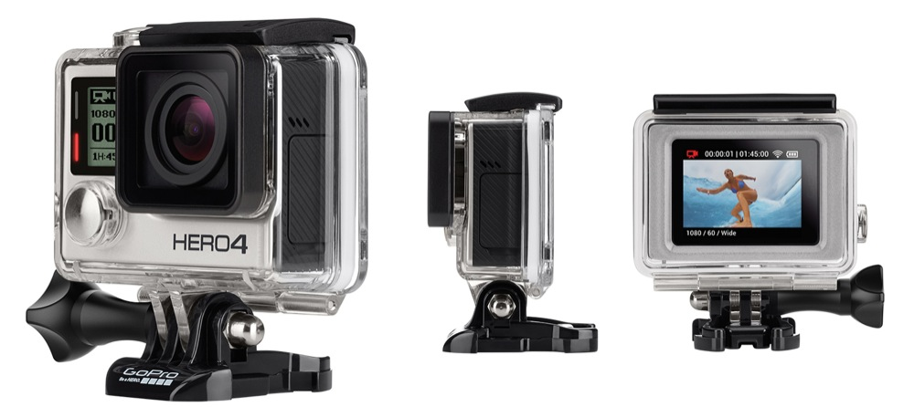 GoPro Hero4 Silver mit Touchscreen