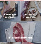 Messer scharfe Schnitte heiße Rezept3