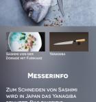 Messer scharfe Schnitte heiße Rezepte 1