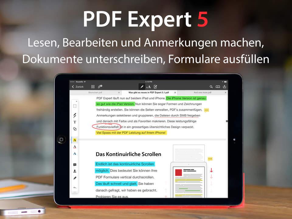 5 Favorieten 8 : Documents 5 & pdf expert 5 integrieren ios 8 funktionen und touch id