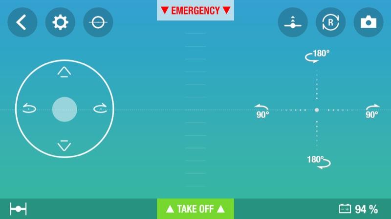Parrot Mini Drones Free Flight 3 App