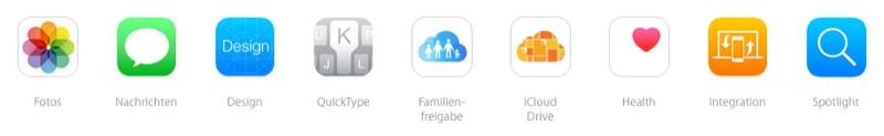 iOS 8 neu