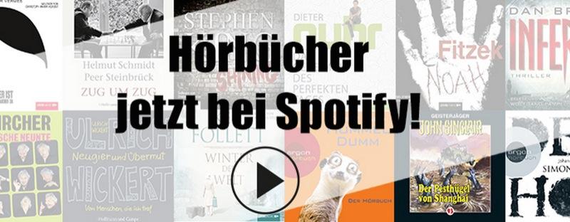 Hoerbuecher Spotify