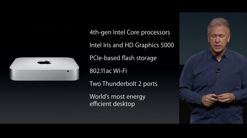 Mac Mini Apple Keynote