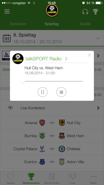 Onefootball Update Mit Sport1 Radio Und Buli Highlights