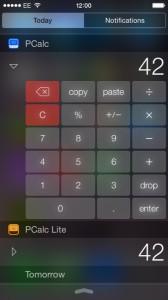 PCalc Widget