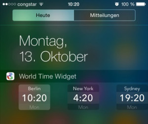 World Clock Widget 2