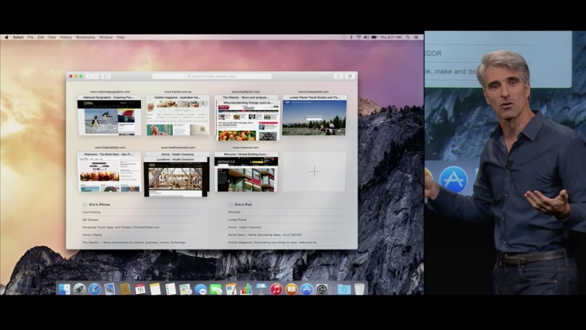 Yosemite Apple Keynote 2