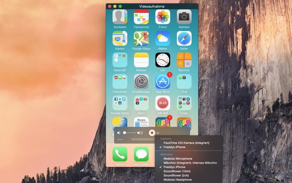 screencast ios mac