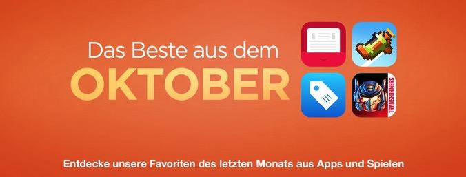 App Store Oktober 2014