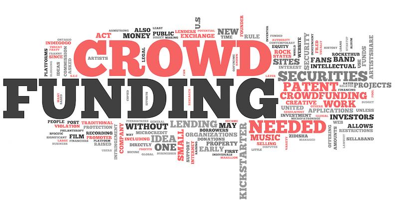 Word Cloud Crowd Funding