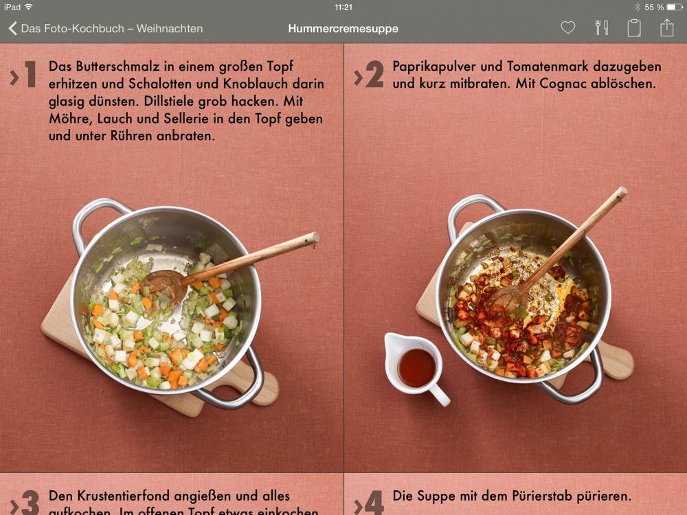 Das Foto-Kochbuch Weihanchten