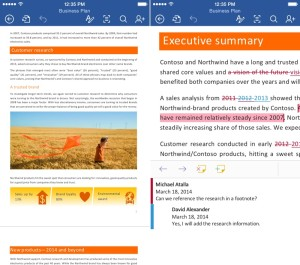 Microsoft Office Word iPhone