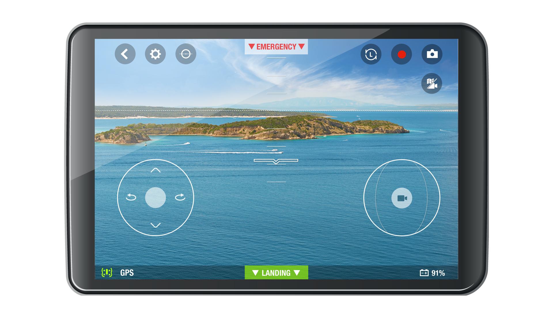 Parrot Bebop Drone App