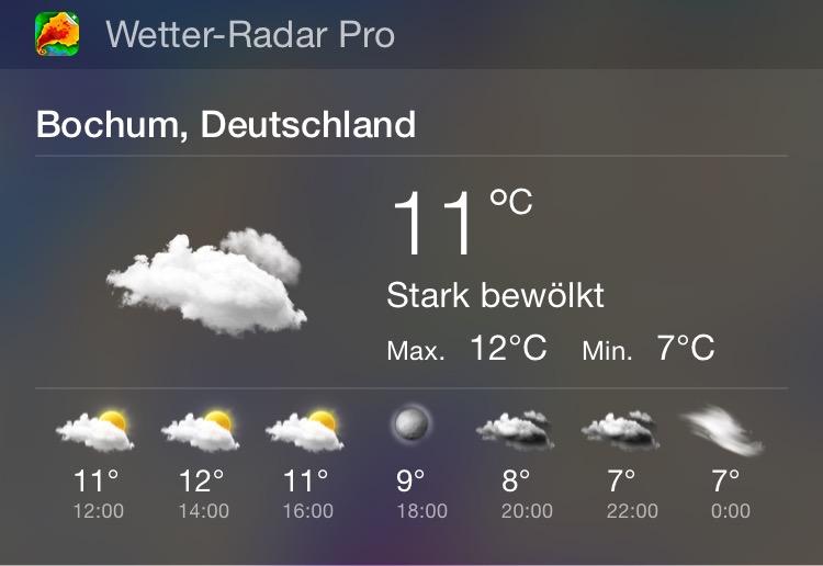 Wetter-Radar Pro Widget