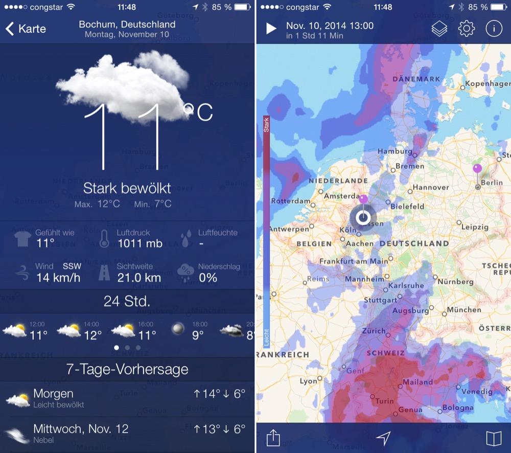 Wetter-Radar Pro