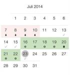 Zykluskalender NetMoms 4