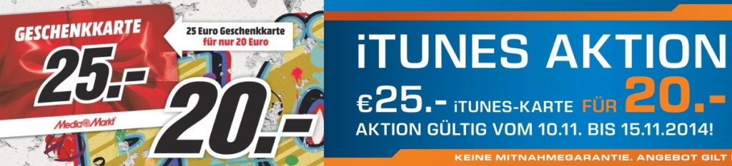 iTunes Karte Mauerfall Saturn Media Markt
