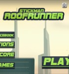 Stickman Roof Runner 1