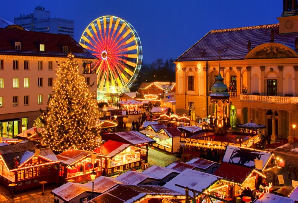 Magdeburg Weihnachtsmarkt - Magdeburg christmas market 02
