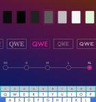 Custom Keyboard for iOS 8 3