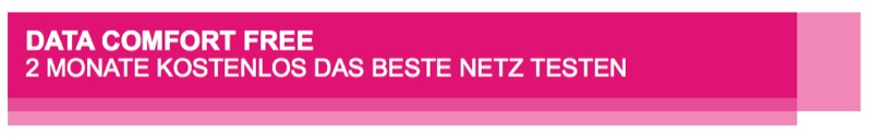 Data Comfort Free Telekom