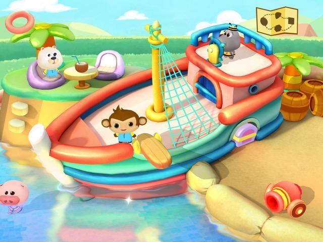 dr pandas swimming pool neue kinder app von tribeplay. Black Bedroom Furniture Sets. Home Design Ideas