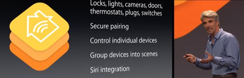 HomeKit WWDC Keynote