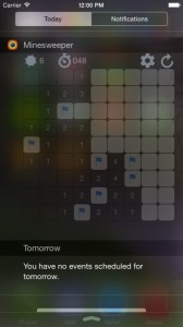 Minesweeper Widget Edition