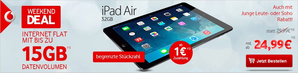 iPad Modeo Traif