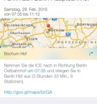 Google Maps Bahn 1