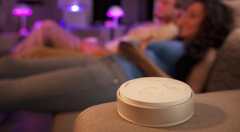 hue tap fernbedienung f r philips hue im test. Black Bedroom Furniture Sets. Home Design Ideas