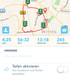 Runkeeper iPhone 5s