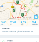 Runkeeper iPhone 6