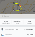 Runtastic iPhone 5s