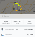 Runtastic iPhone 6