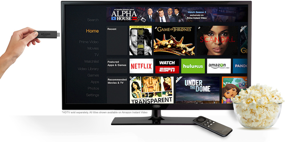Amazon Fire TV Stick Fernseher