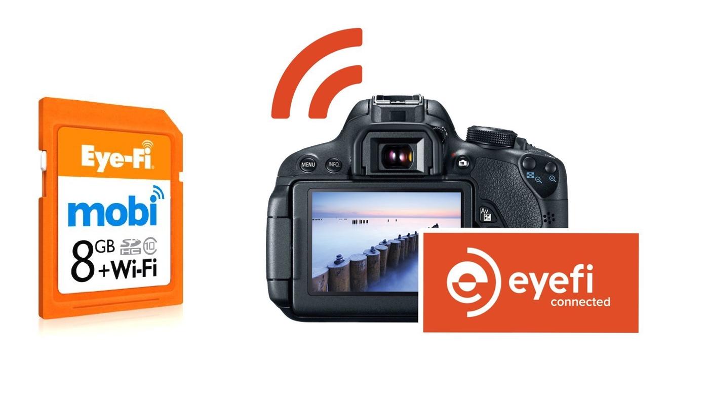 Eye Fi Speicherkarte kamera