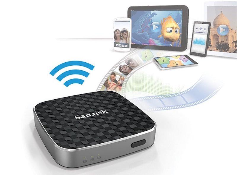 SanDisk Connect Festplatte