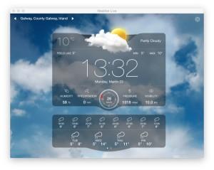 Wetter Live Mac