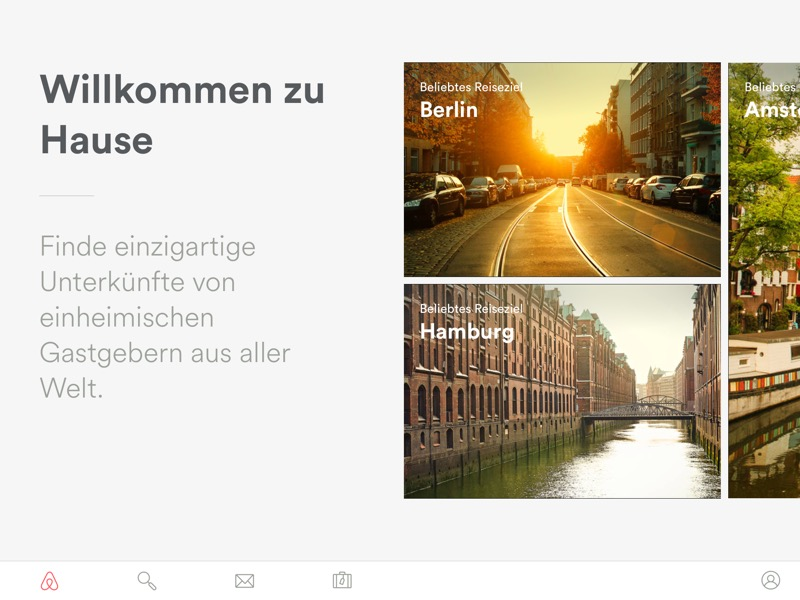 Airbnb iPad 1