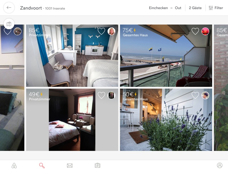 Airbnb iPad 4