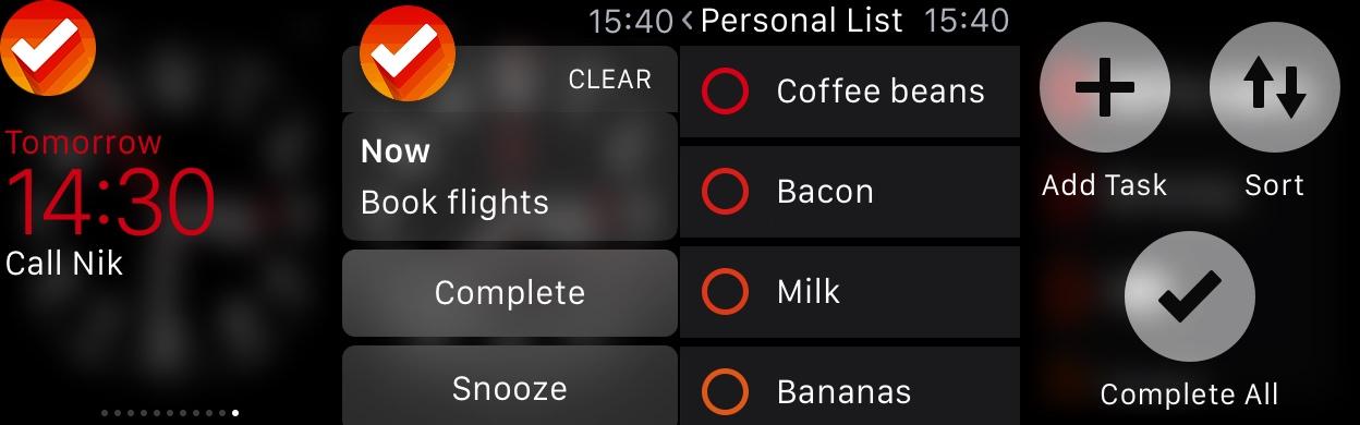 Apple Watch Clear