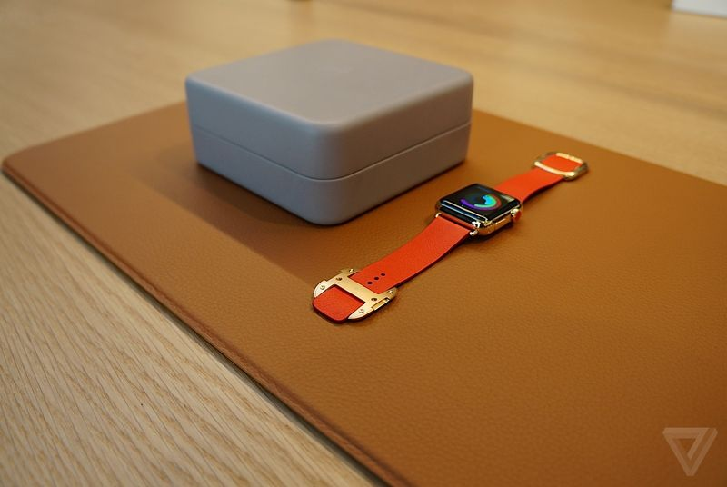 Apple Watch edition the verge