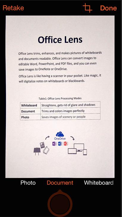 kostenlose scan app für das iphone