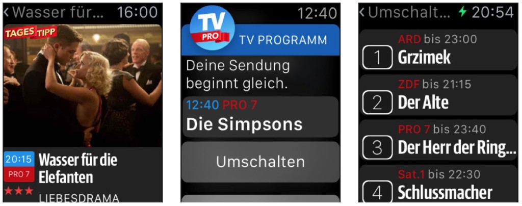 TV Pro Apple Watch
