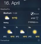 WeatherPro Widget