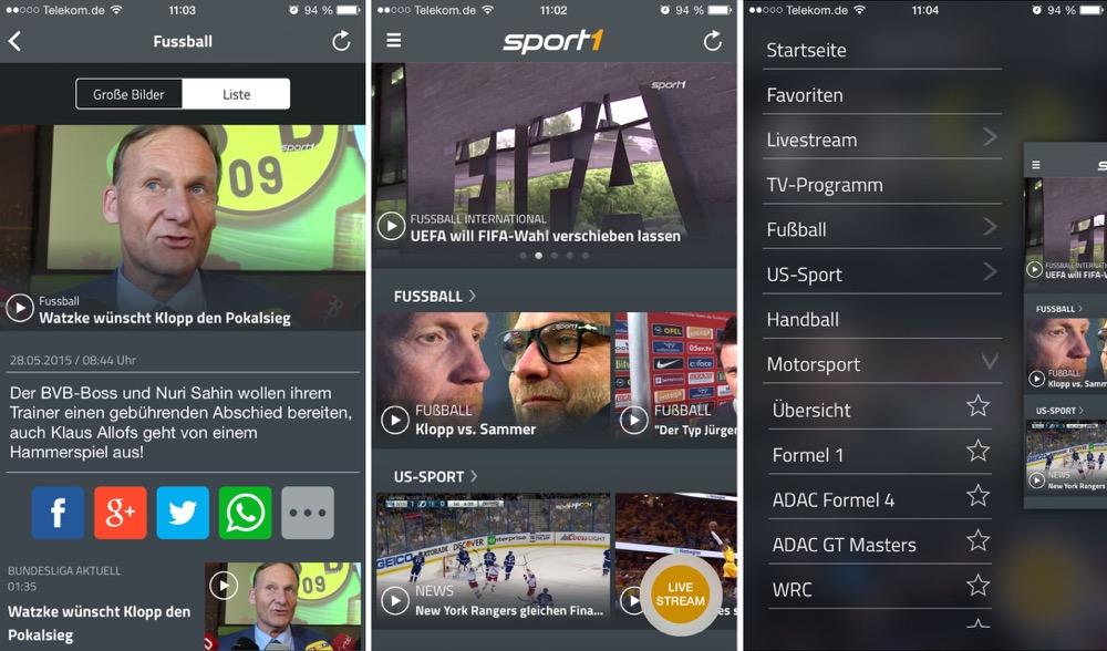 Sport 1 Video